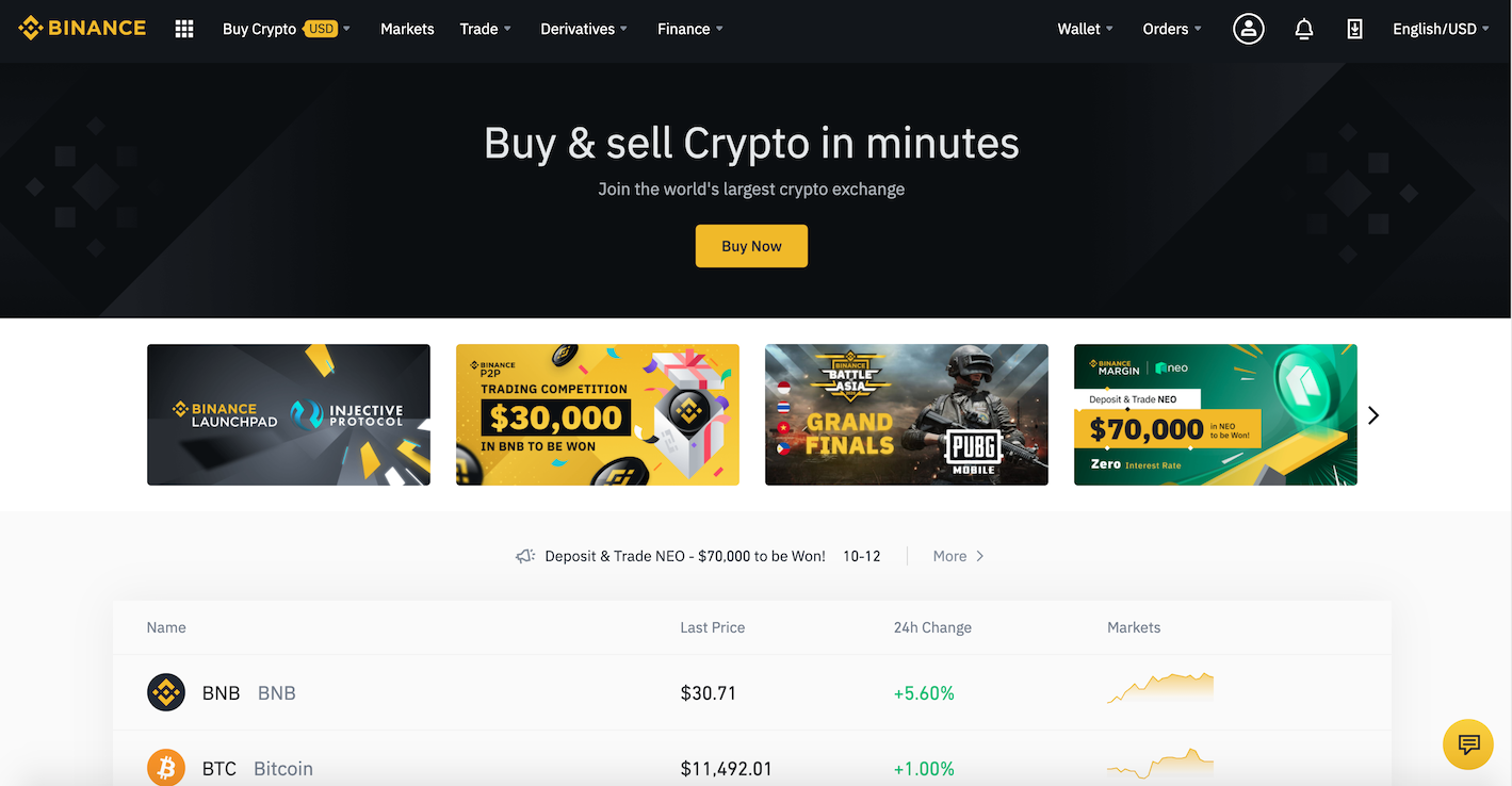 Binance Review Home